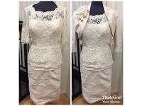 Ian Stuart Ivory mother of the bride outfit size 14