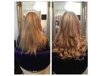 Best Hair Extensions Guildford Surrey Russian Hair Mini Microring MiniLocks Only £280 FULLHEAD