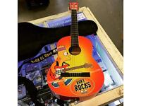 Bart Rocks Simpsons Guitar