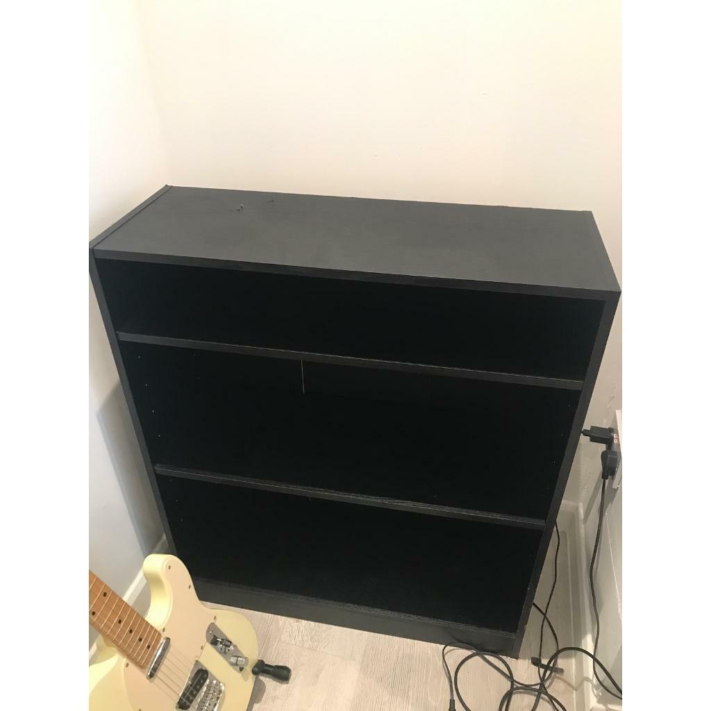Black Short Bookcase In Darwen Lancashire Gumtree