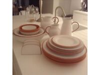 Rustic Terracotta and White Tableware (ideal for a wedding or garden party)