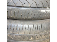 Tyres 2x 205/55/16