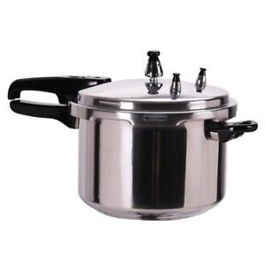 New 6-Quart Aluminum Pressure Cooker Fast Cooker Canner Pot Kitchen - BRAND NEW - FREE SHIPPING
