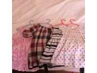Dresses 18-24 months. Also some trousers, leggings and shorts.