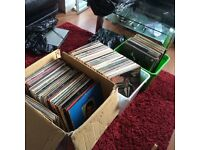 Records, large collection, vgc