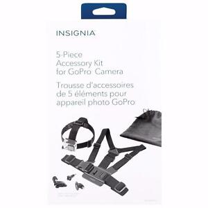 Go Pro Accessory Kit Insignia 5-Piece Set (NS-DGPK05-C) | BRAND NEW!