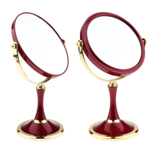 3 Magnifying Modern Tabletop Vanity Makeup Mirrors for Bathr