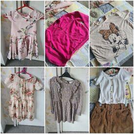 Girls age 6-7 Clothing.