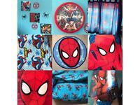 Spider-man bedroom bundle £20
