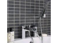RDX007 BATH SHOWER MIXER CHROME