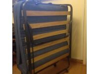 Fold up Single Bed with Mattress