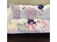 Baby Girl Clothes – 0-3 months – Bundle 2 - Good condition