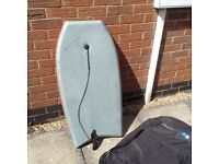 Body board with carry bag