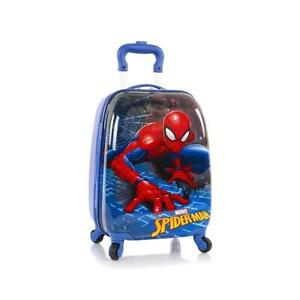 Marvel Spider Man Hardside Spinner Luggage for Kids - 18 Inch [ Spider-Man ]