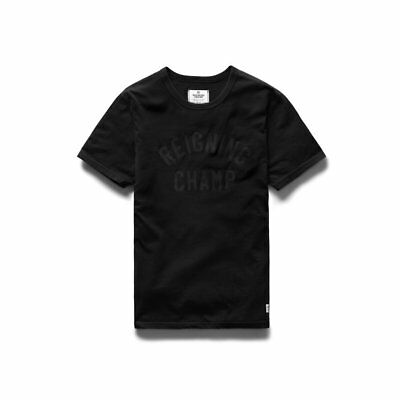 Reigning Champ Knit Ringspun Jersey 2-Pack T-Shirt Black Canada New RC-1029-BLK