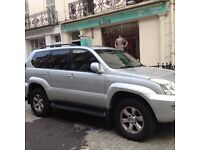 Toyota Landcruiser 8 seater lc4d-4d auto model 2004 silver colour diesel cylinders 2982cc