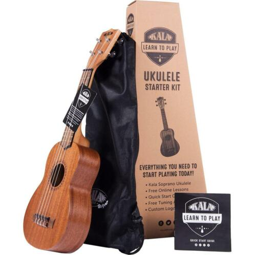 Kala Learn to Play Ukelele Starter Kit starterset sopraan