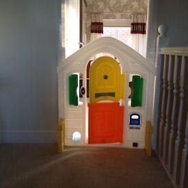 Children's Play Door.