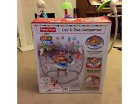 Luv U Zoo Jumperoo with original box