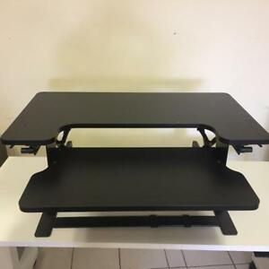 Sit to Stand Adjustable Height Desk Riser