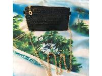 Ladies Shoulder Handbag Bag Black