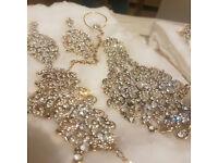 Indian Bridal 10 Piece Full Bridal jewelry set