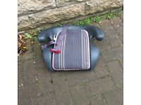 Car booster seat for small children (Britax). Good condition.