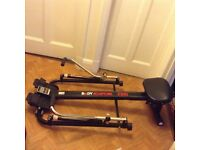 Hydraulic rowing machine. Excellent condition.