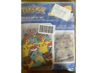Pokemon duvet cover- double