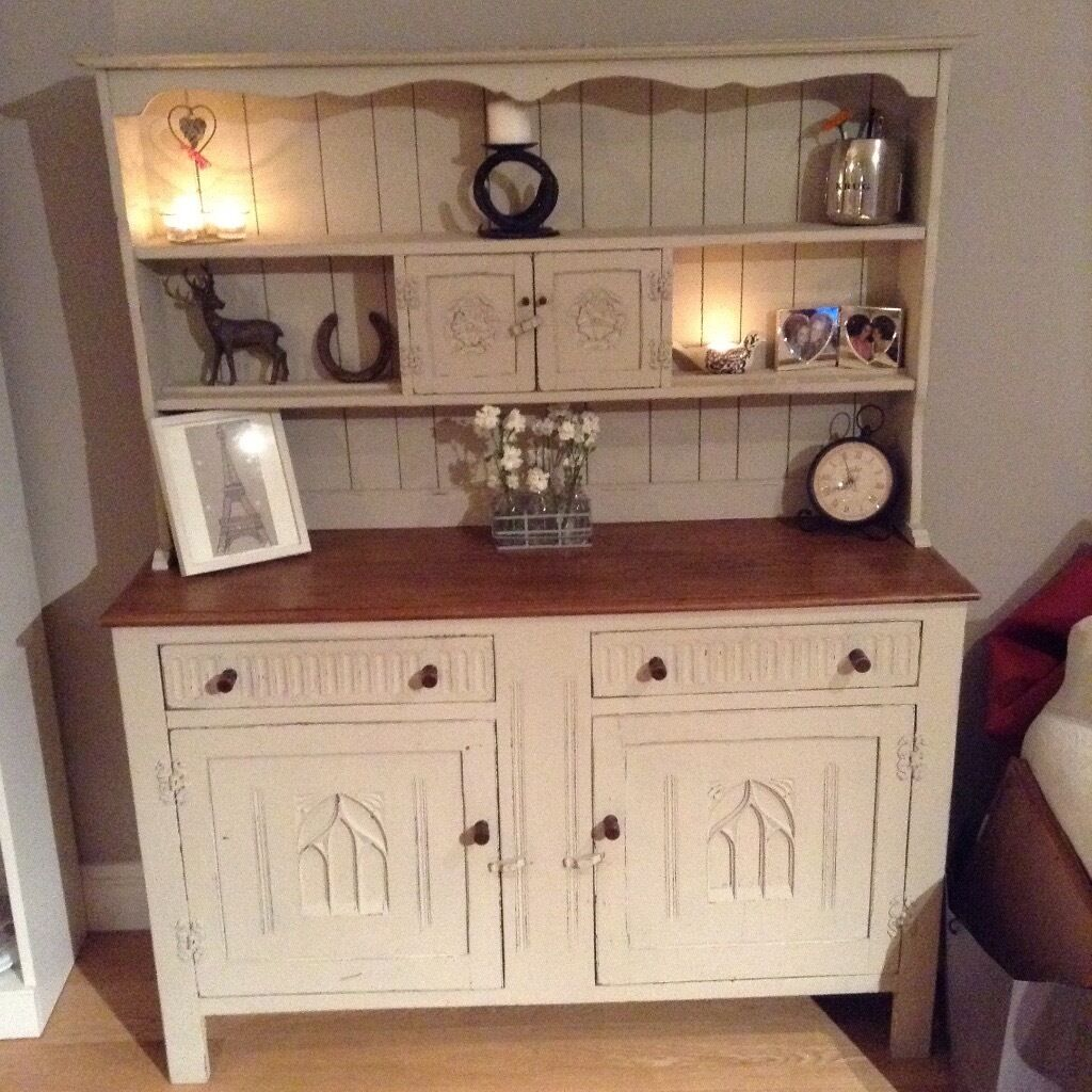 Dresser With Cabinet Shabby Chic Welsh Dresser Cabinet In Fulham London Gumtree