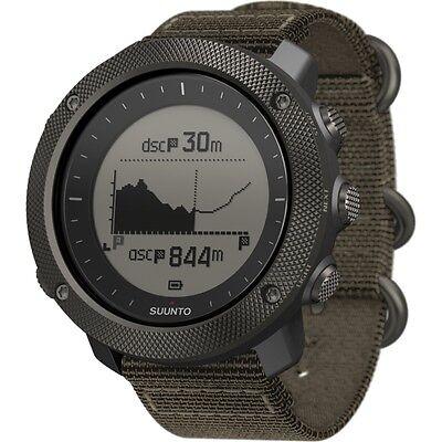Suunto Traverse Alpha Foliage Mens GPS Outdoor Wrist Watch - SS022292000
