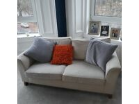 Next Home 3 Seater Couch and Armchair