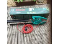 New boxed, unused BOSCH electric hedge trimmer, AHS 50-16