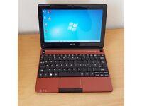 Acer Laptop/Notebook Windows 7 Office 250GB Hard Drive 2GB RAM Wifi