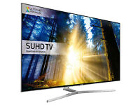55'' SAMSUNG ULTRA HD 4K HDR QUANTUM LED TV. 2016 MODEL UE55KS8000.FREEVIEW HD. FREE DELIVERY