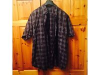 Burberry Men's Half Sleeve Shirt Brand New XL