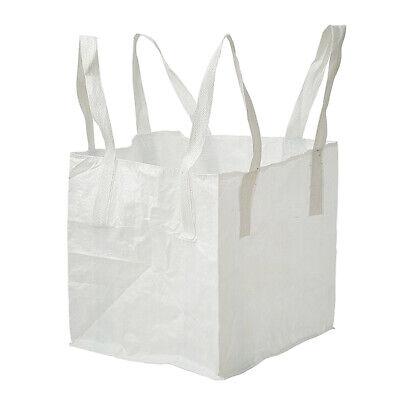 1 Tonne FIBC Bulk Bag Builders Bag Waste Rubble Storage Sack Bottom Spout