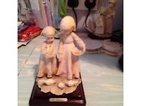 Italian figurines.Assorted figurines by Guisepe Armarni.A bargain at £10 each to clear