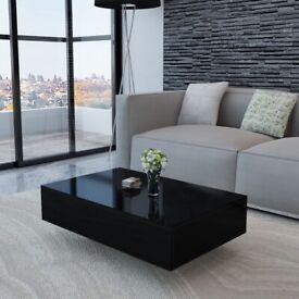 Coffee Table High Gloss Black-244024