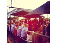 Assistant Bar Manager & Supervisors- unique moored boats nr Vauxhall