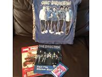 10-11 Years Girls One Direction T'shirt, Books and Pad