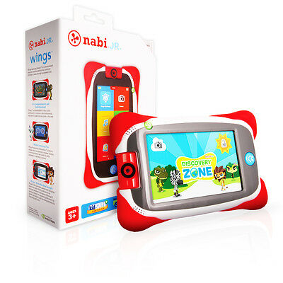 """Nabi Jr 4GB 5"""" Touchscreen Android 4.4 WiFi Bluetooth Drop Safe Kids Tablet"""
