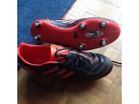 New rugby boots, size 9.5