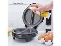 Omelette Maker Electric Cooker Non-Stick Pan Andrew James