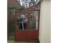 Lean-to Potting Shed/Greenhouse