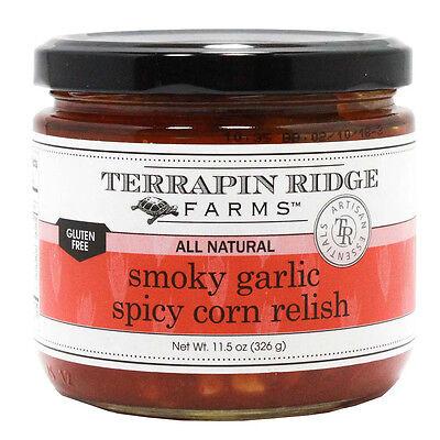 Spicy Corn Relish - Smokey Garlic Spicy Corn Relish