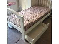 Single Bed with mattress and storage *Reduced price*