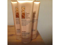 Avon Skin so Soft firming & tanning lotions