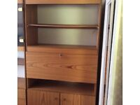 Bookcase/drinks cabinet