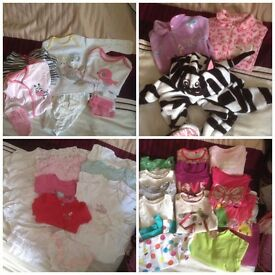 Baby girl bundle 12-18months amazing 139 items including Ralph Lauren Designer Shorts